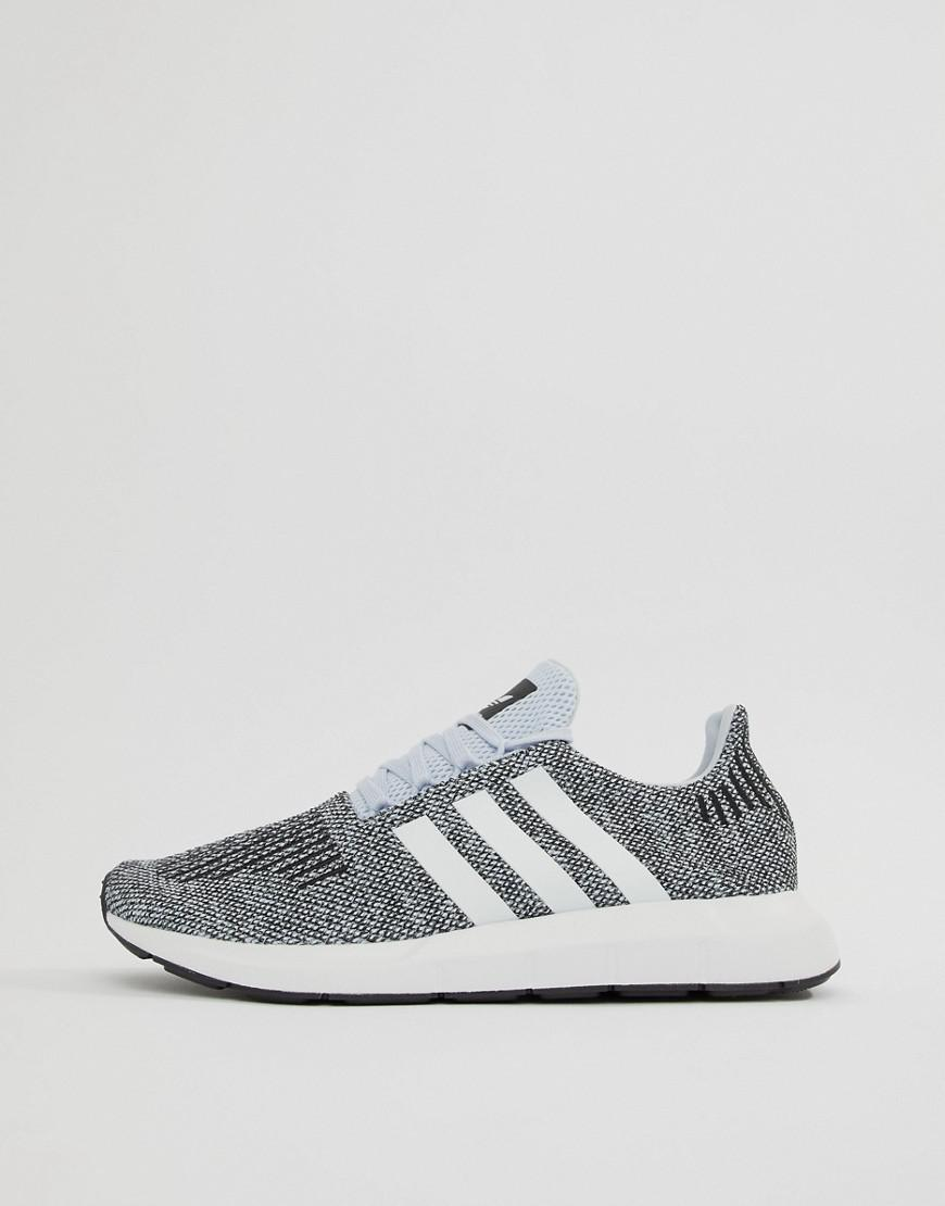 df54c3c1e Lyst - adidas Originals Swift Run Sneakers In Gray Cq2122 in Blue ...