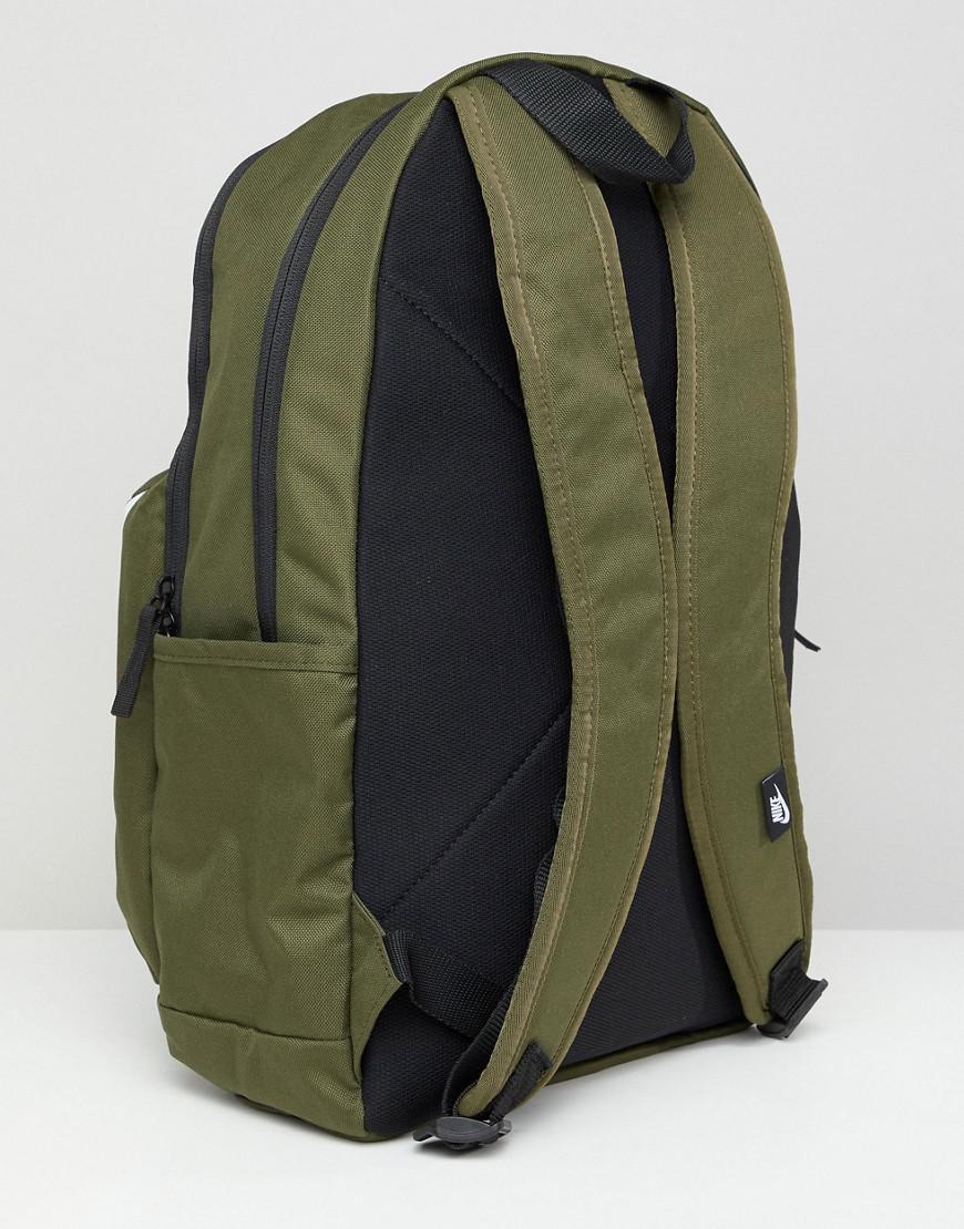 Nike Logo Backpack In Khaki Ba5381-395 in Green for Men - Lyst 7fe40fff34780
