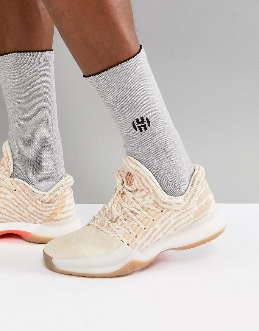 adidas Basketball x Harden Vol 1 Driveway Primeknit Sneakers In AP9840 1ONlG9