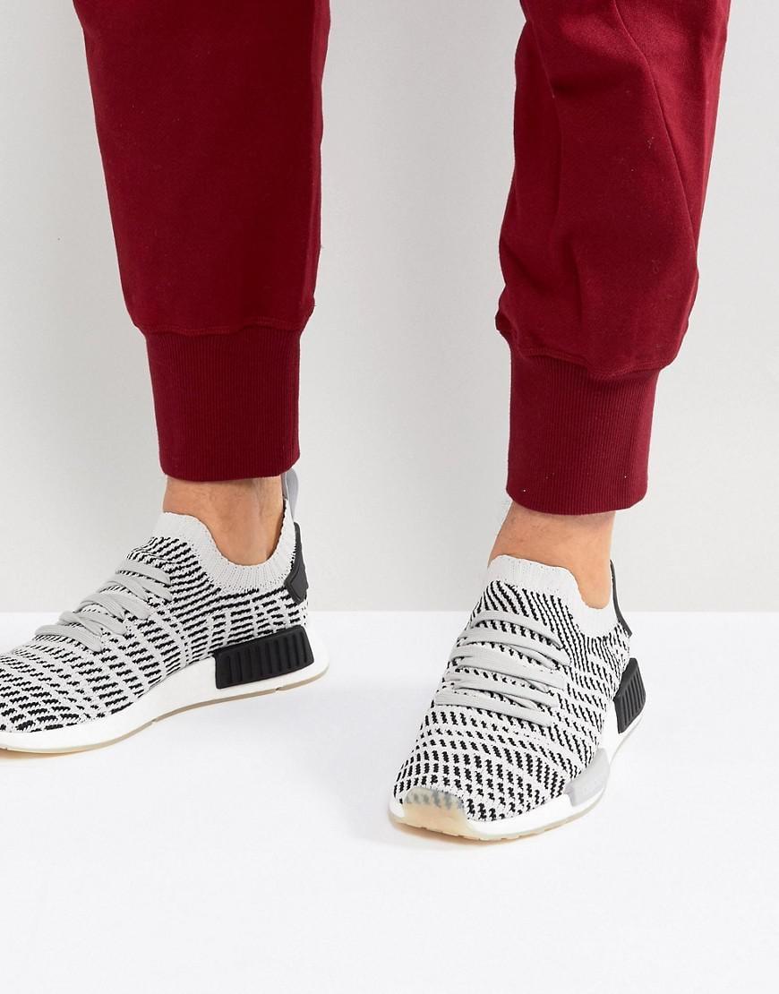 c2ad7e13c adidas Originals Nmd R1 Stlt Trainers In Grey Cq2387 in Gray for Men ...