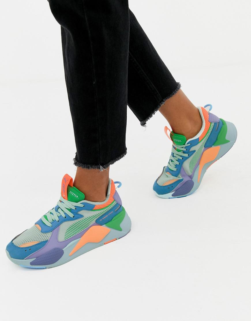 Rs-x Toys Green And Blue Trainers