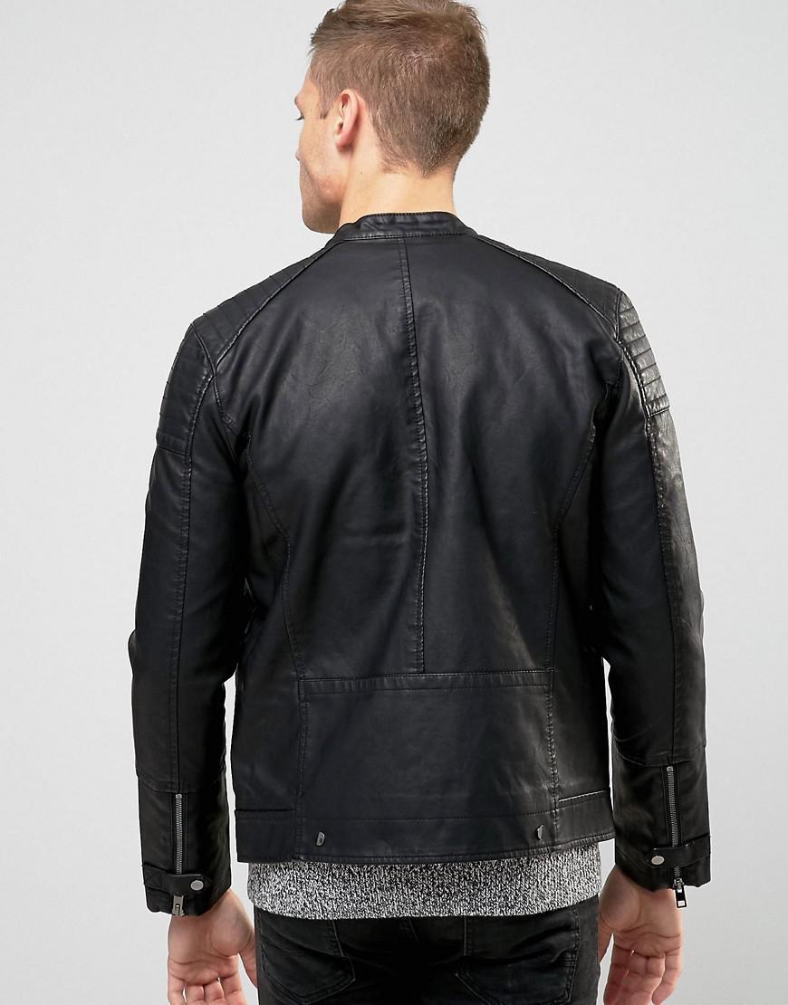 Newlook leather jacket