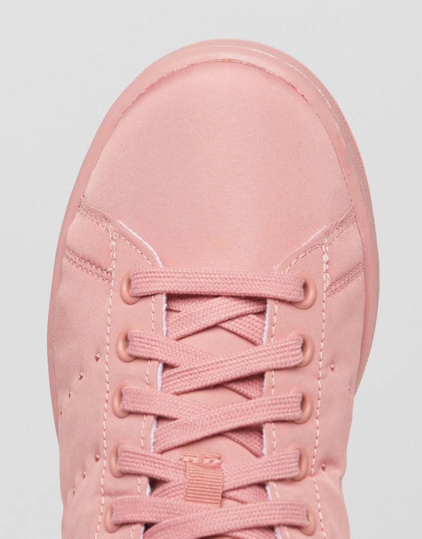lyst adidas stan smith di raso rosa originali originali trapuntato