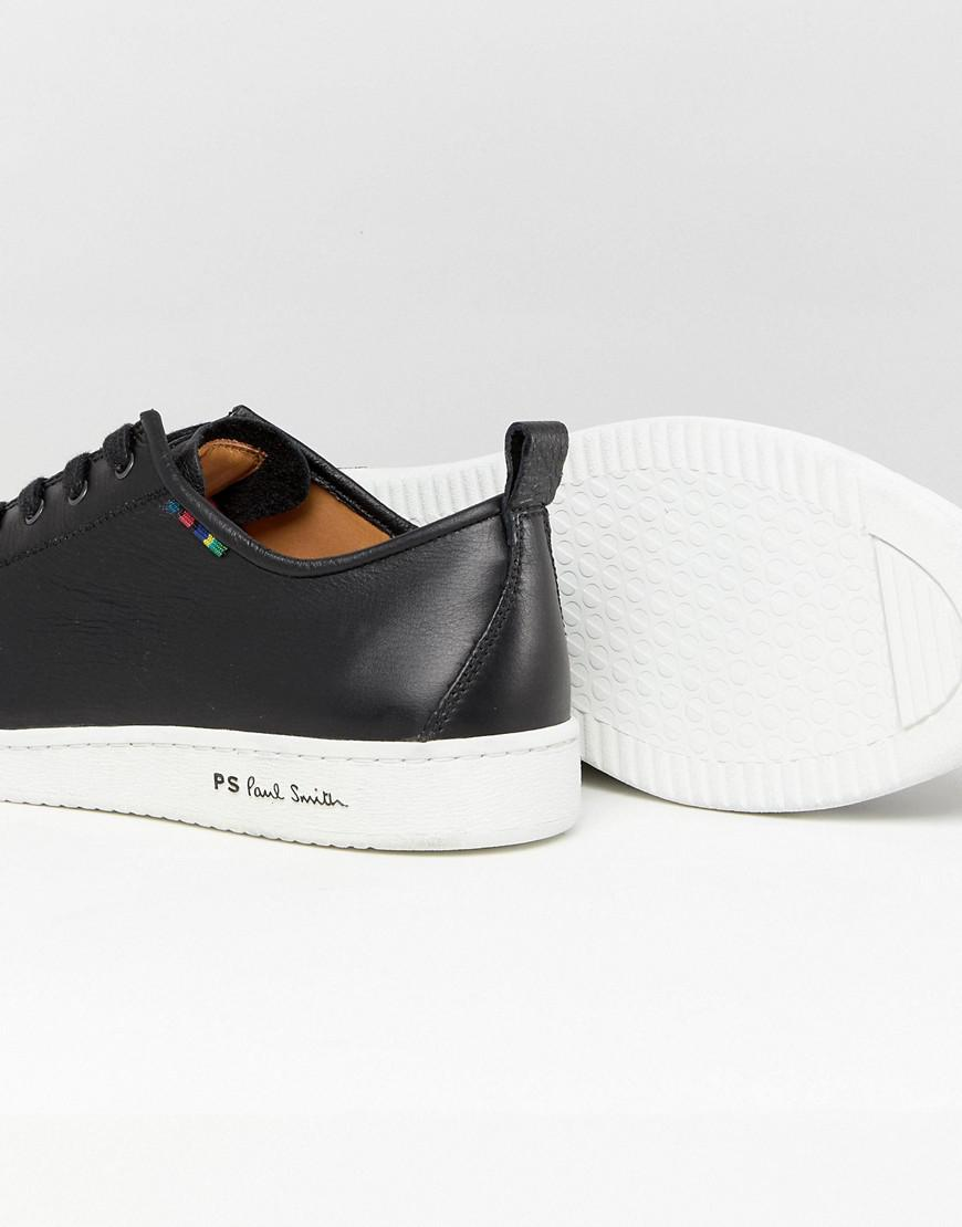 PS by Paul Smith Miyata Leather Trainer In Black for Men
