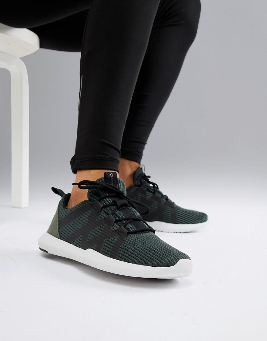 2066ae22be56 Reebok Training Reago Pulse Sneakers In Green Cn5126 in Green for Men - Lyst