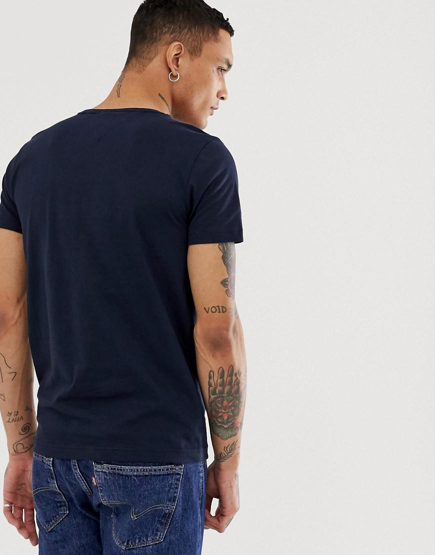 aa2b49c5 Lyst - Tommy Hilfiger Signature Tommy Logo T-shirt in Blue for Men