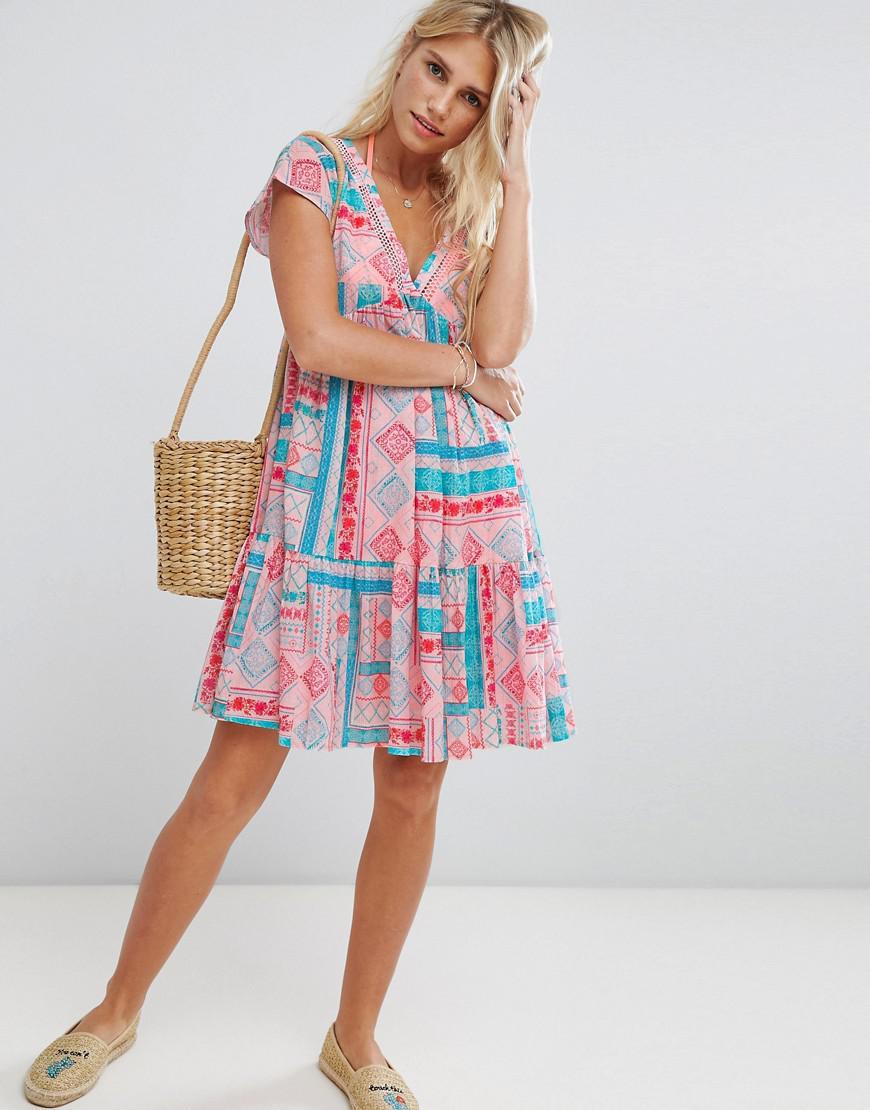 db6b9dbbd6 Seafolly. Women's Vacay Printed Beach Dress
