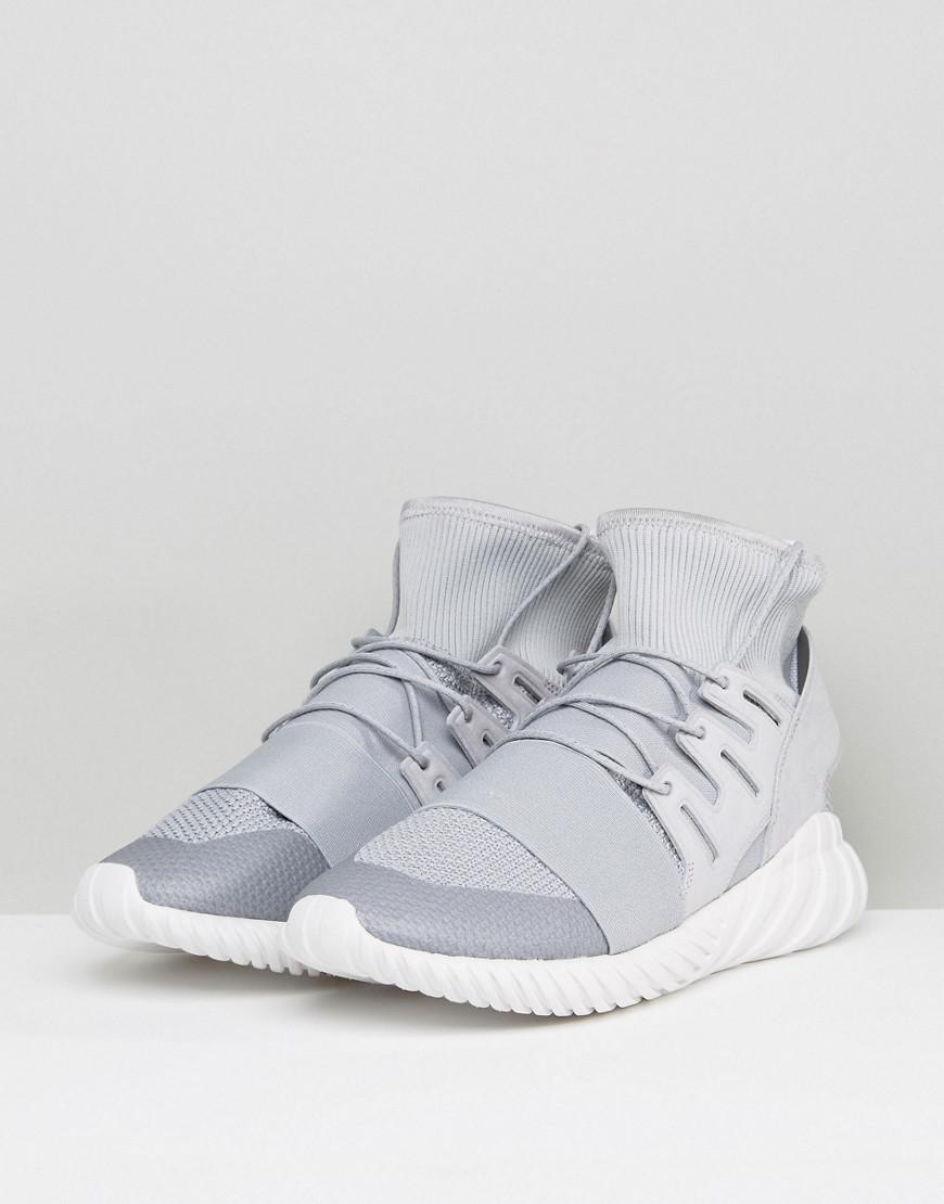 official photos 97842 d54bf Lyst - adidas Originals Tubular Doom Winter Sneakers In Gray By8701 in Gray  for Men