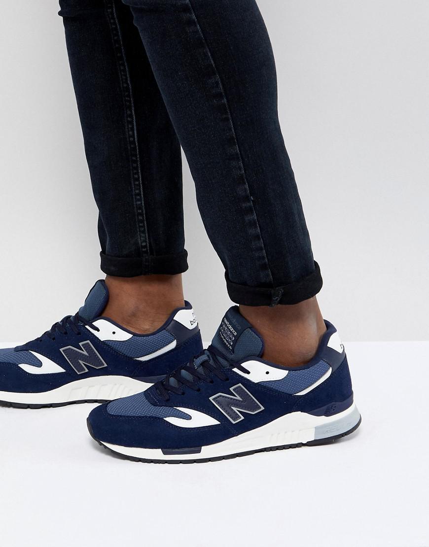 840 New Balance pour homme en coloris Bleu - Lyst