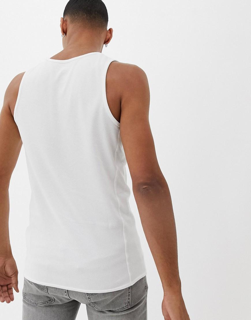 Nike Nike - - Jumpman - Hemd in het Wit voor heren