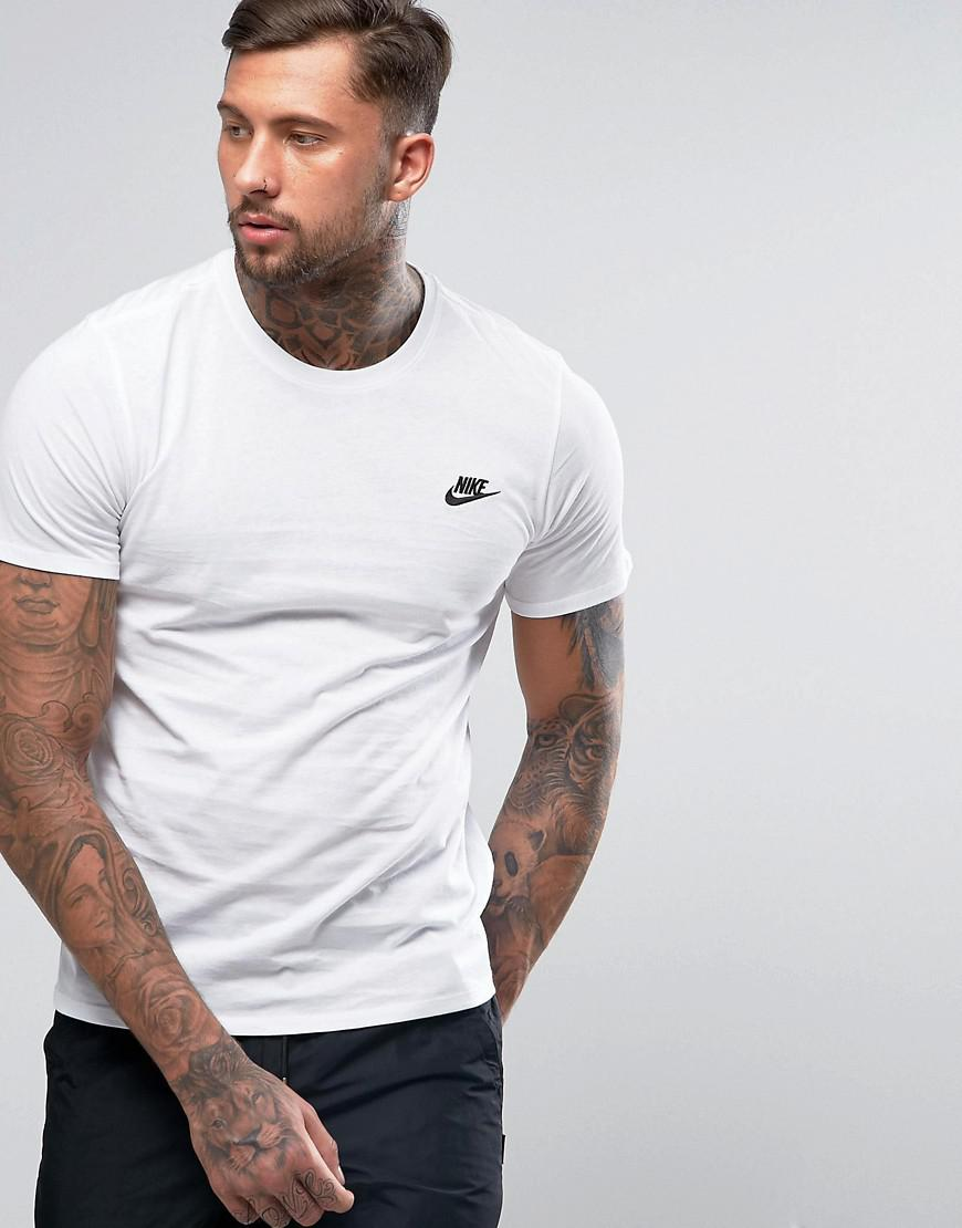 19af716e Nike Futura T-shirt In White 827021-100 in White for Men - Lyst