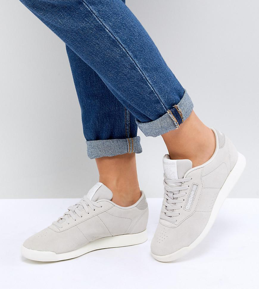 Reebok Classic Princess Trainers In Grey in Gray - Lyst 9a5f8dc66