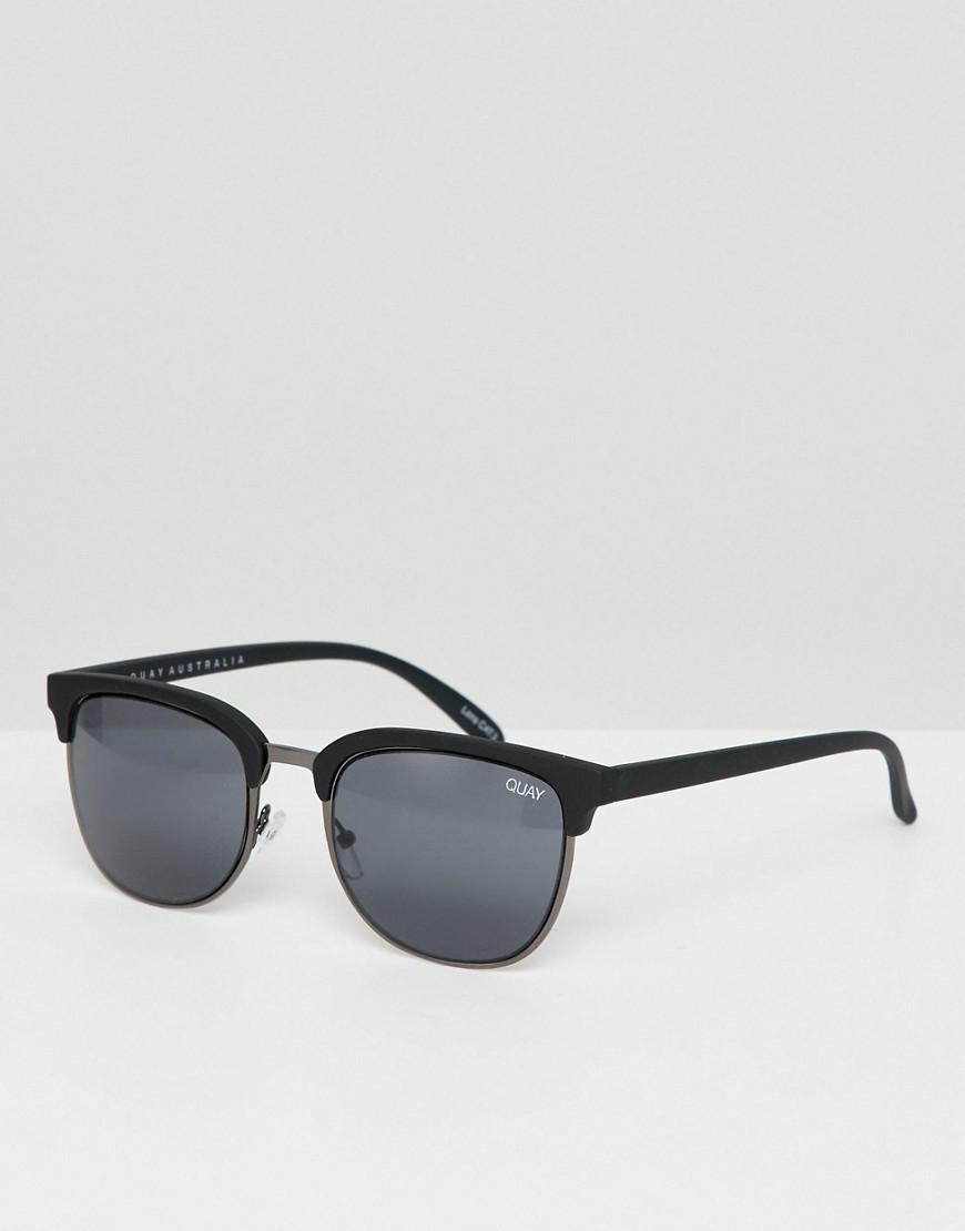 e75ddfb6d4a36 Quay Retro Flint Sunglasses in Black - Lyst