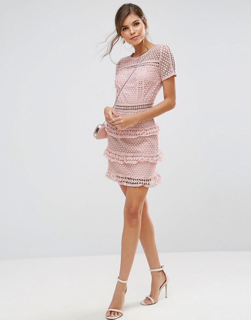 Layered Lace Dress