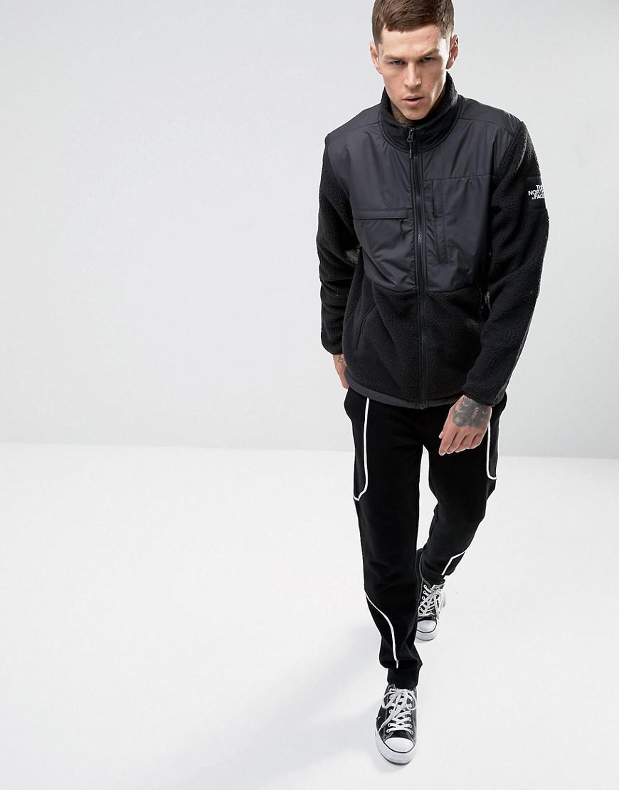 6fcd4cf3e The North Face Denali Fleece Jacket Mixed Fabric In Black for men