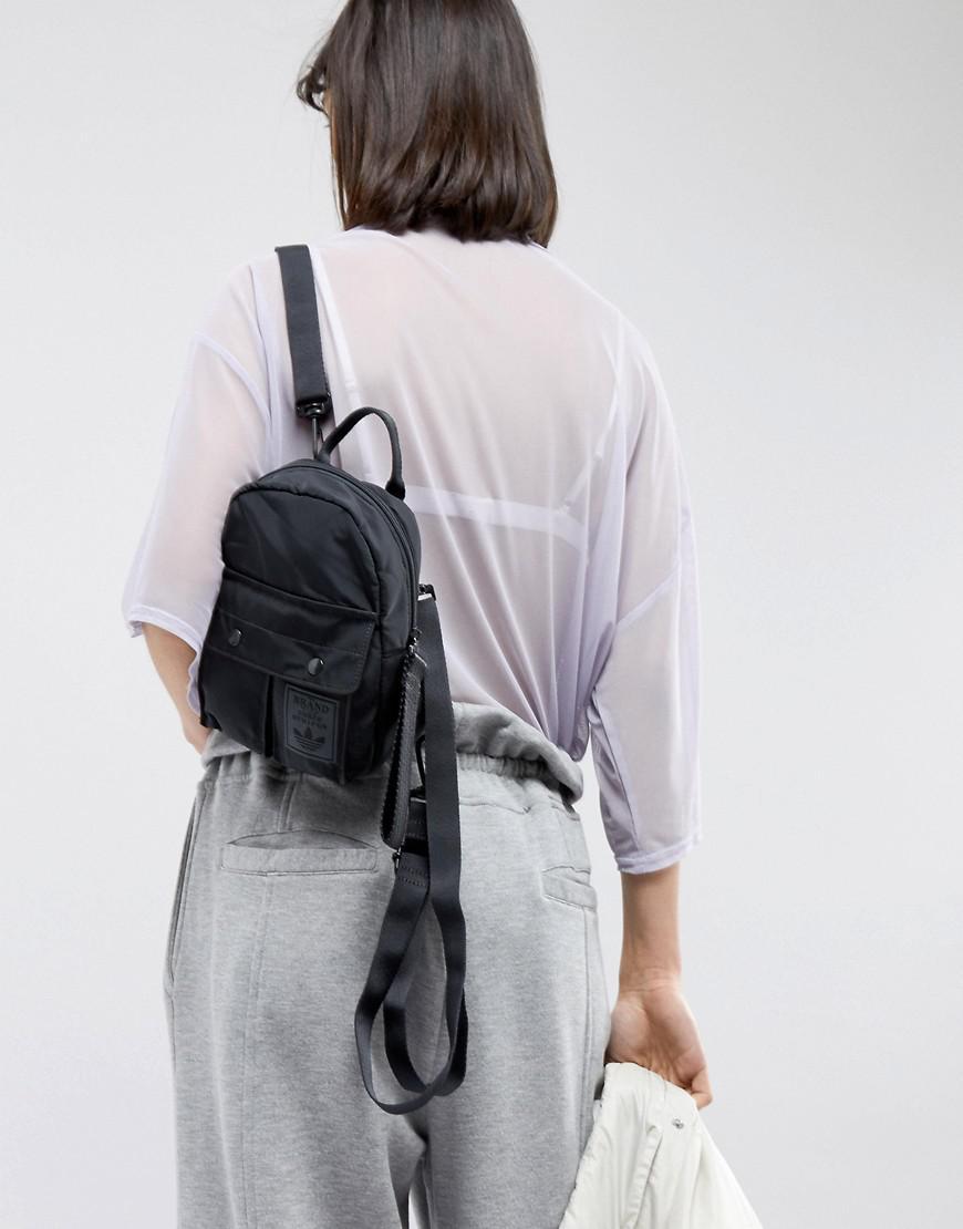 Womens Mini Airliner Bag Black | adidas Originals Bags & Backpacks