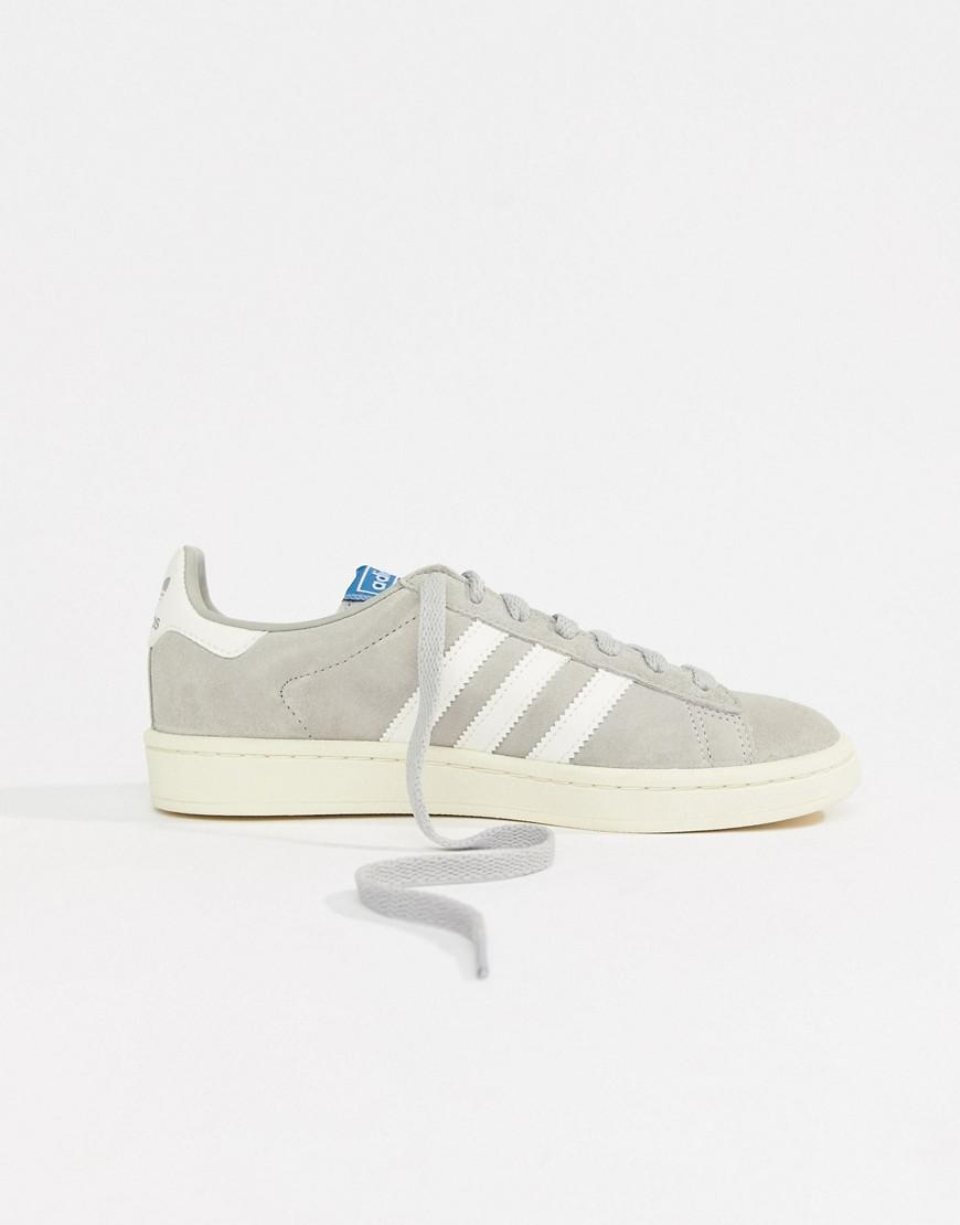 97282c463229 Lyst - adidas Originals Campus Sneakers With In Gray in Gray