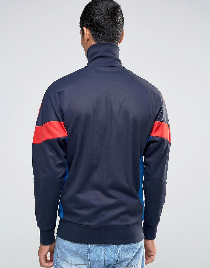 655f2d592daf Lyst - adidas Originals Clr84 Tracksuit Top Az0279 in Blue for Men