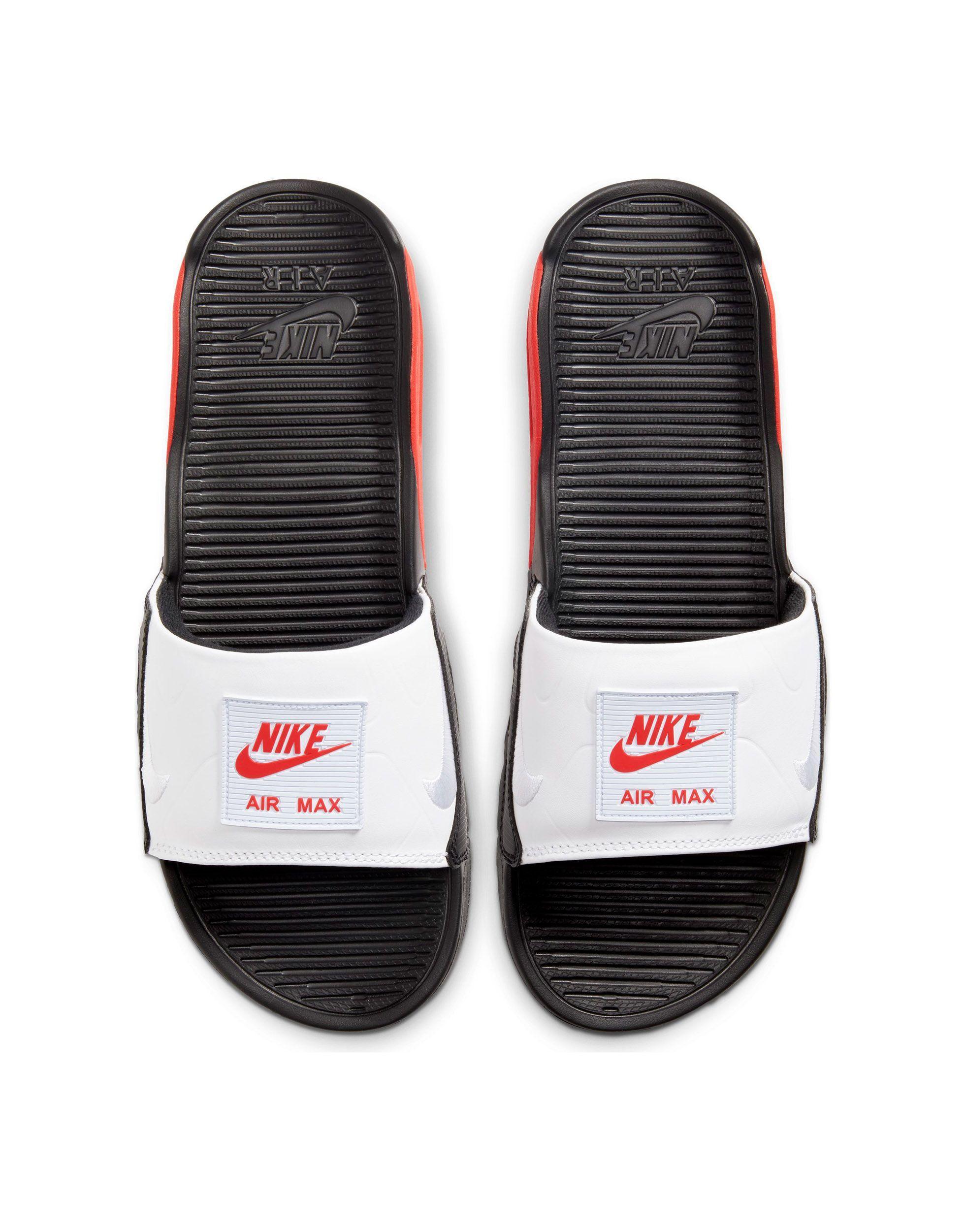 Air Max 90 - Mules Cuir Nike pour homme en coloris Rouge - Lyst