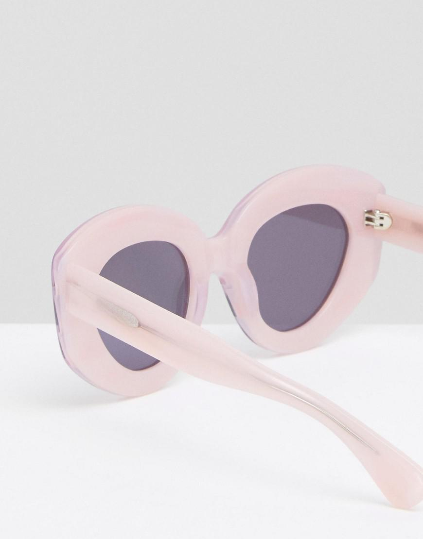lilac extreme cat eye sunglasses - Lilac House Of Holland 7f96jiB