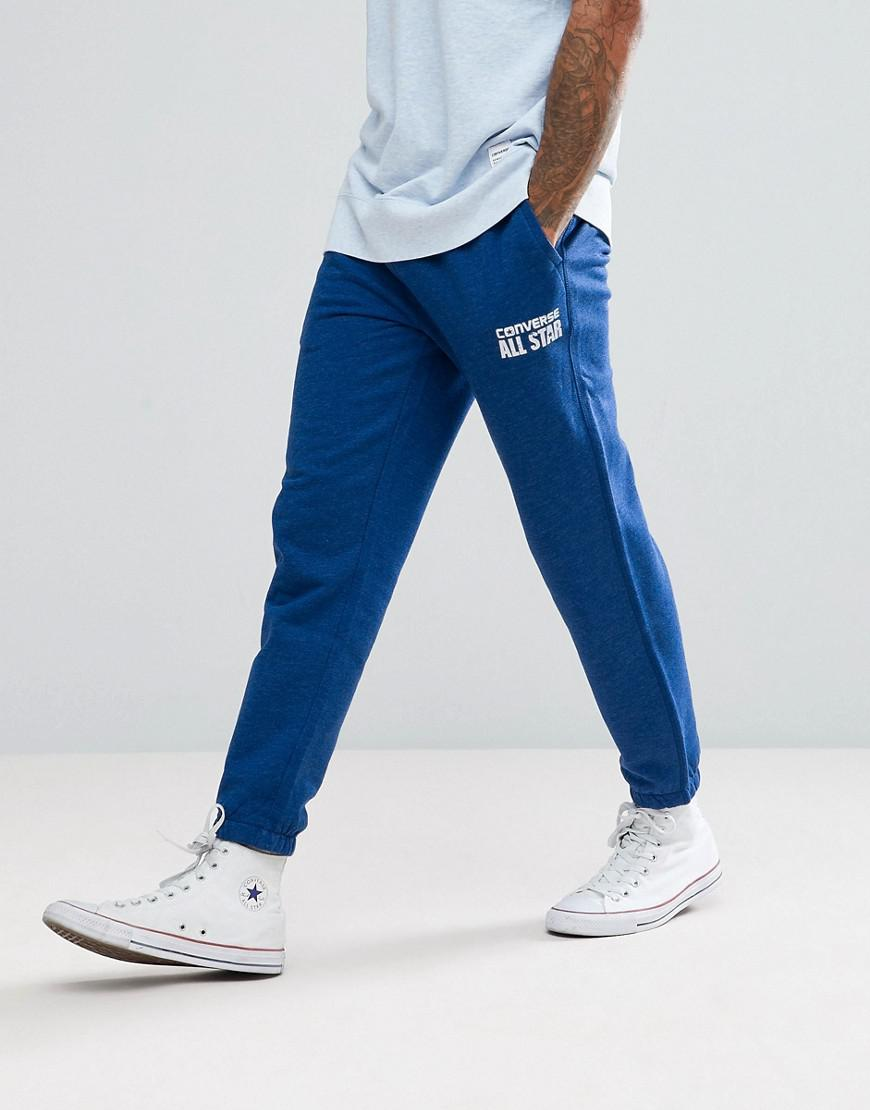 340def22049e Lyst - Converse Heritage Joggers in Blue for Men
