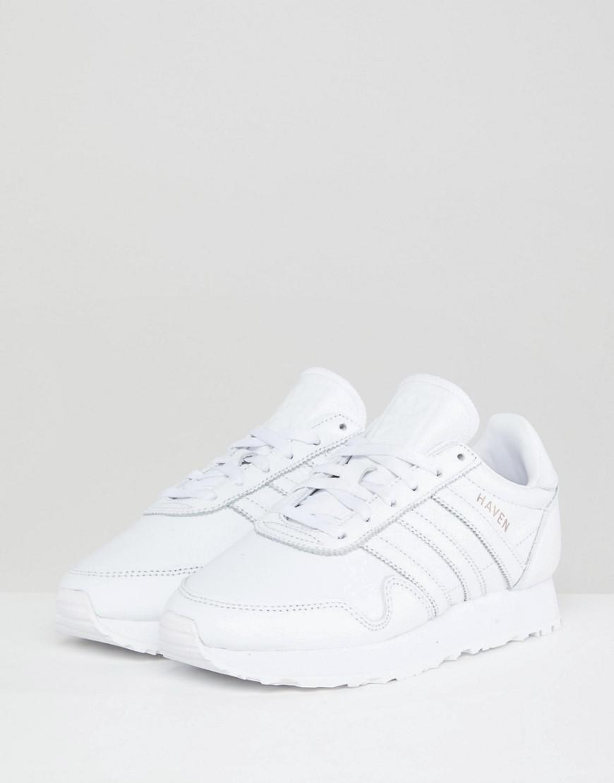 0fddc16d1 Haven Germany Leather Made Lyst In Originals Adidas Premium Sneakers White  q1PfRFw