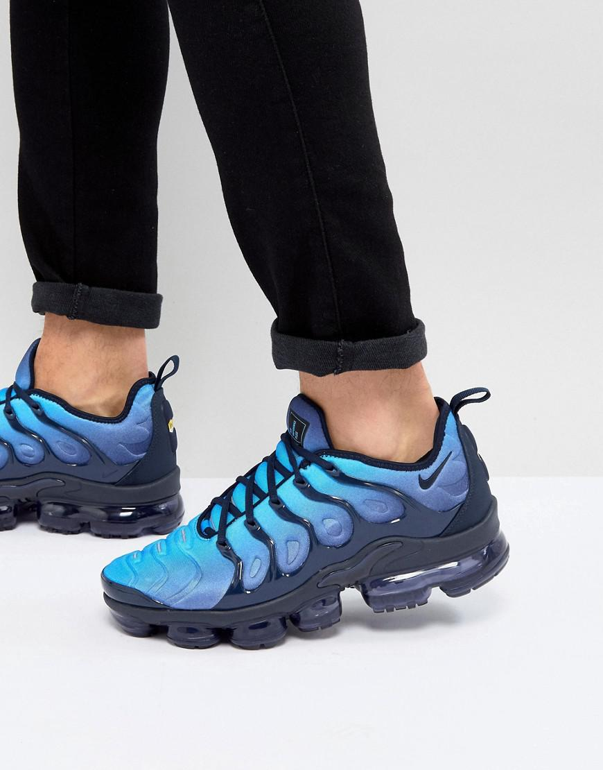 ce1cef25e75cb1 Nike Air Vapormax Plus Trainers In Blue 924453-401 in Blue for Men ...