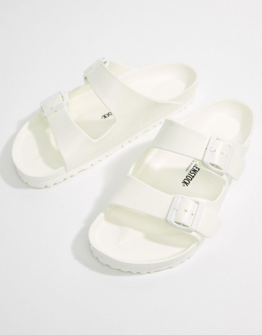7debcd59ddd Birkenstock Arizona Eva Sandals In White in White for Men - Save 50% - Lyst