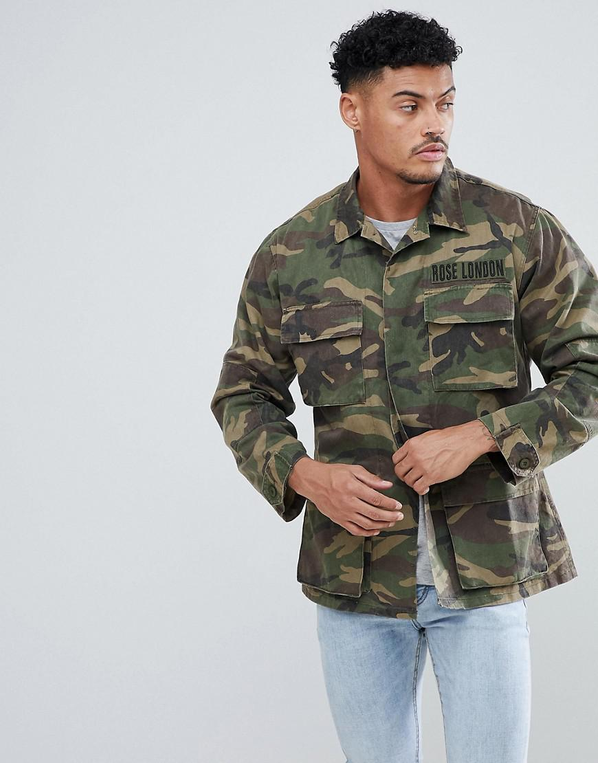 Veste camouflage homme