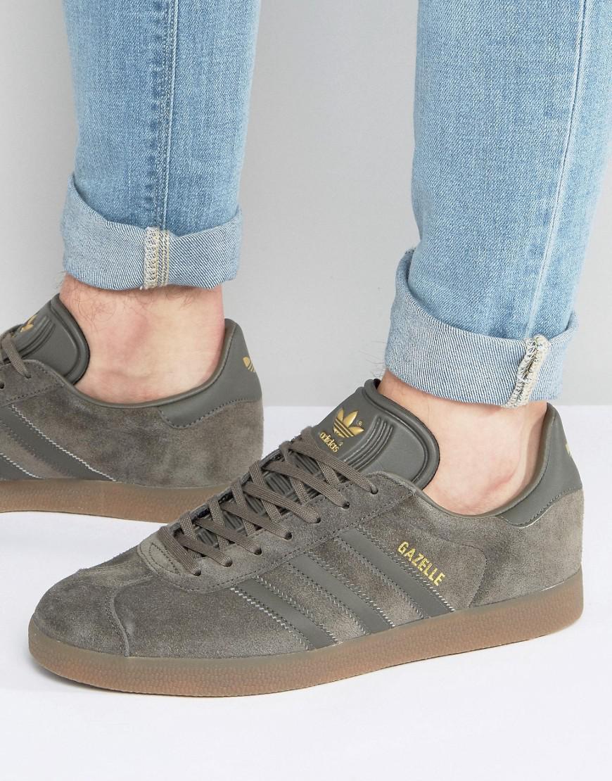 Gazelle Sneakers In Gray Bb2754