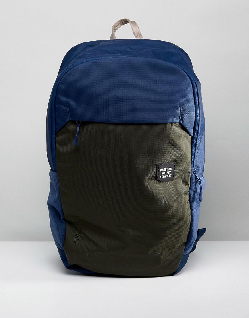4be9269fbbb Lyst - Herschel Supply Co. Mammoth Backpack Large 23l in Blue for Men