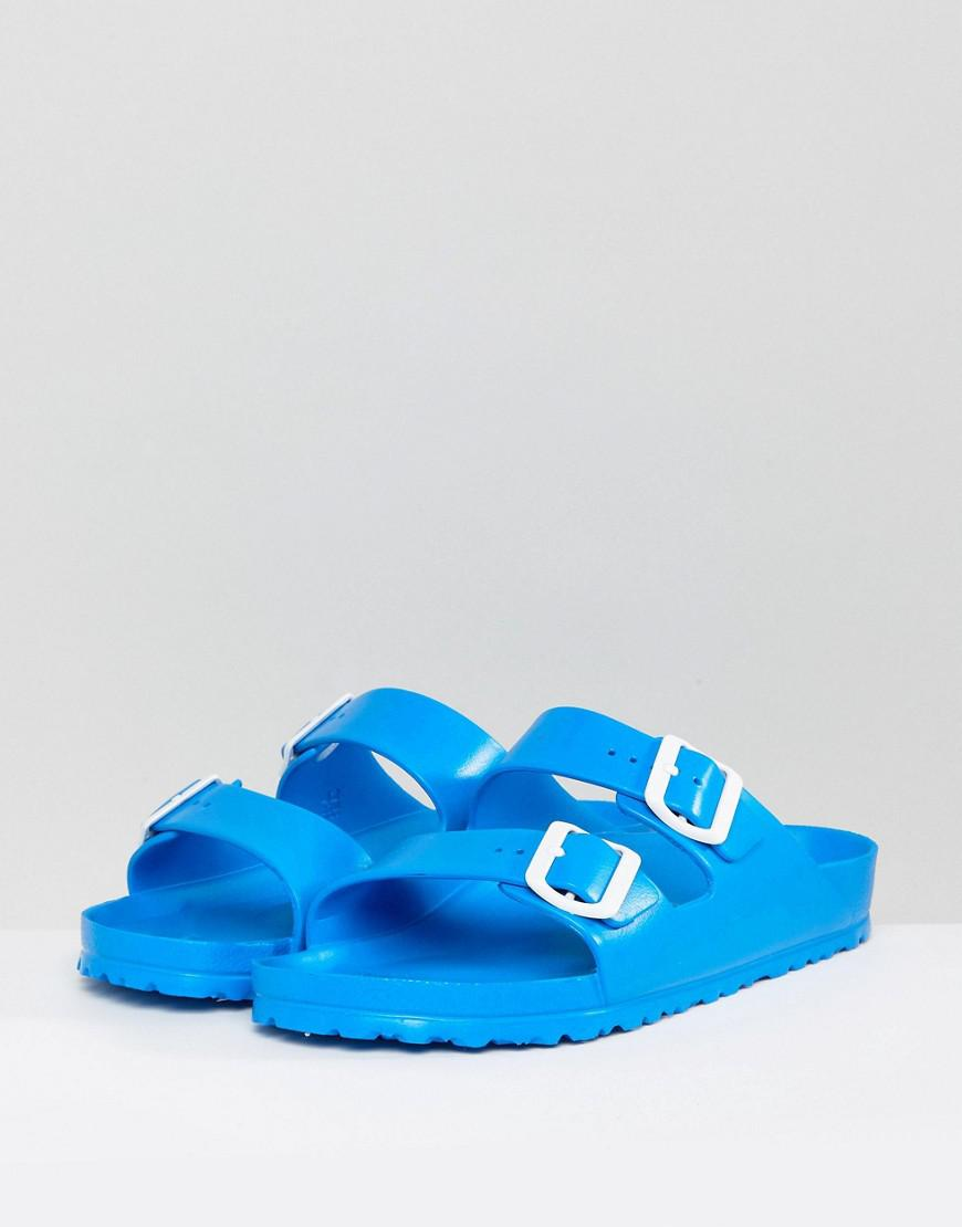 birkenstock arizona scuba blue