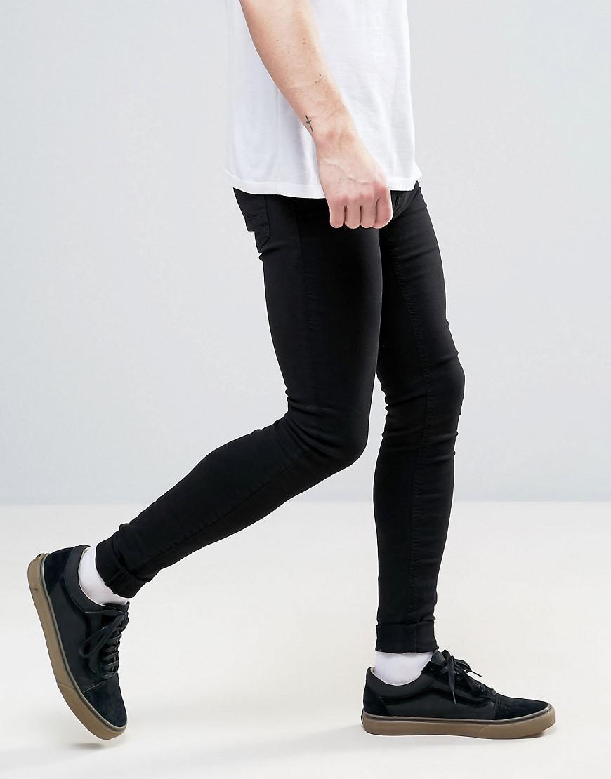 Blend Denim Flurry Extreme Skinny Fit Jeans in Black for Men
