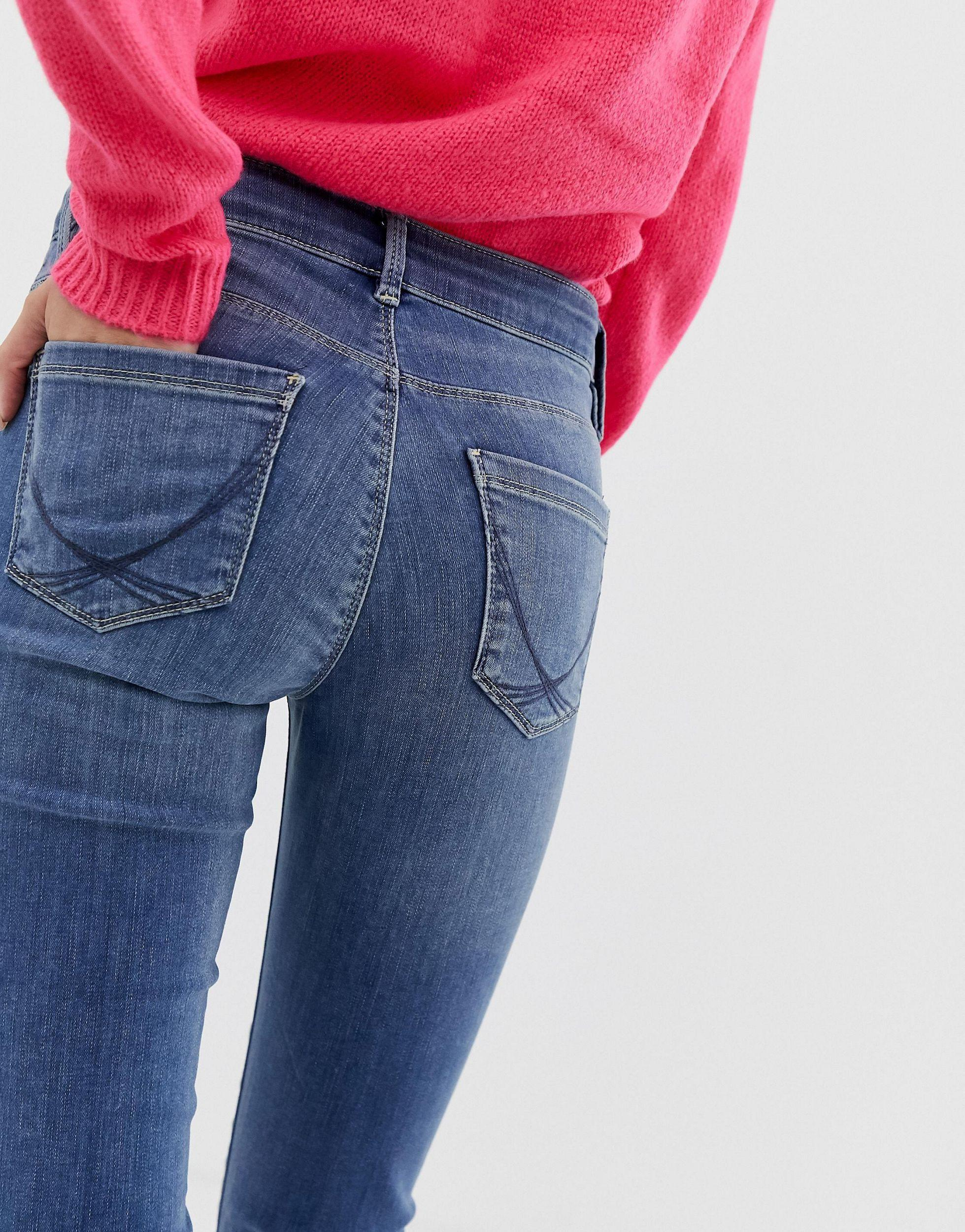 Jean skinny Jean Oasis en coloris Bleu