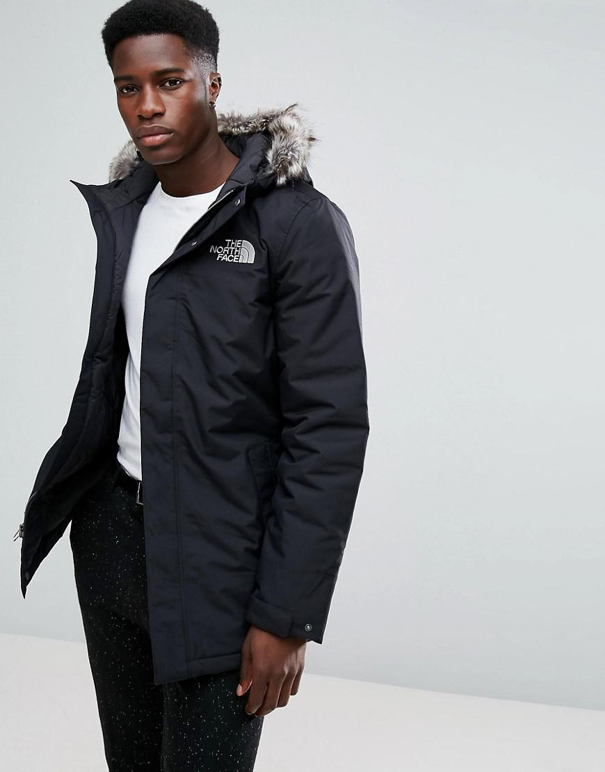 3ff0827cc7 The North Face Zaneck Detachable Faux Fur Hood Jacket In Black in ...