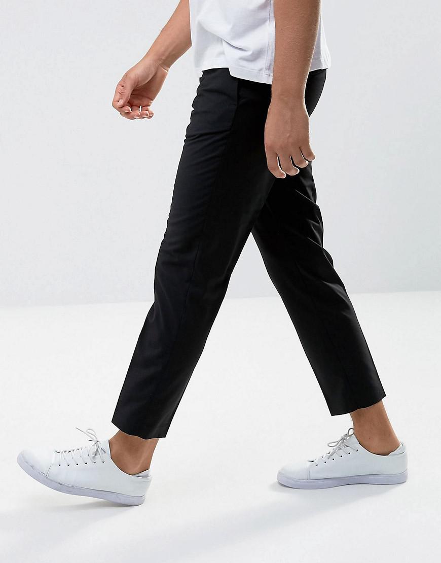Mango Synthetic Man Smart Trouser In Black for Men