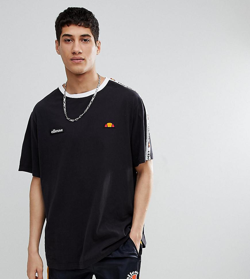 Hurt taniej na stopach o Oversized T-shirt With Taping In Black