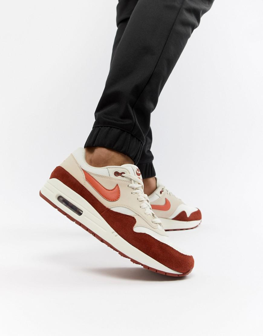 100% authentic 85c89 5df8e Nike Air Max 1 Trainers In White Ah8145-104 in White for Men - Lyst