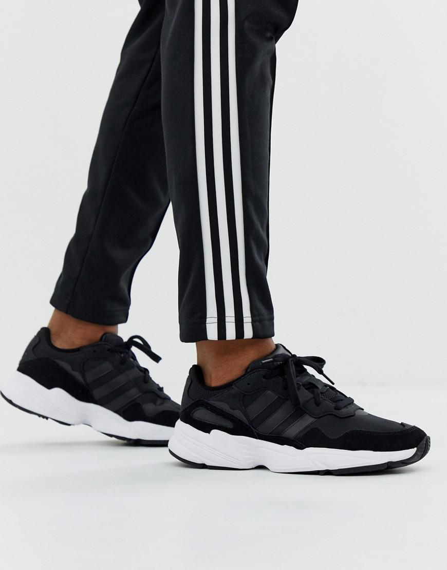 sneakers for cheap 53213 d7116 Lyst - adidas Originals Yung-96 Trainers Black in Black for