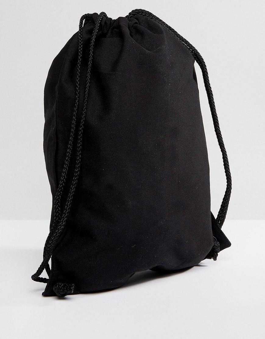 e6e90600976f Vans Rainbow Drawstring Backpack in Black - Lyst