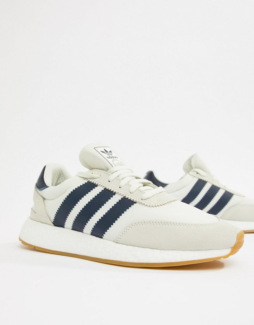 dfbed6ed41 Lyst - adidas Originals I-5923 Boost Suede Sneakers In White B37947 in  White for Men