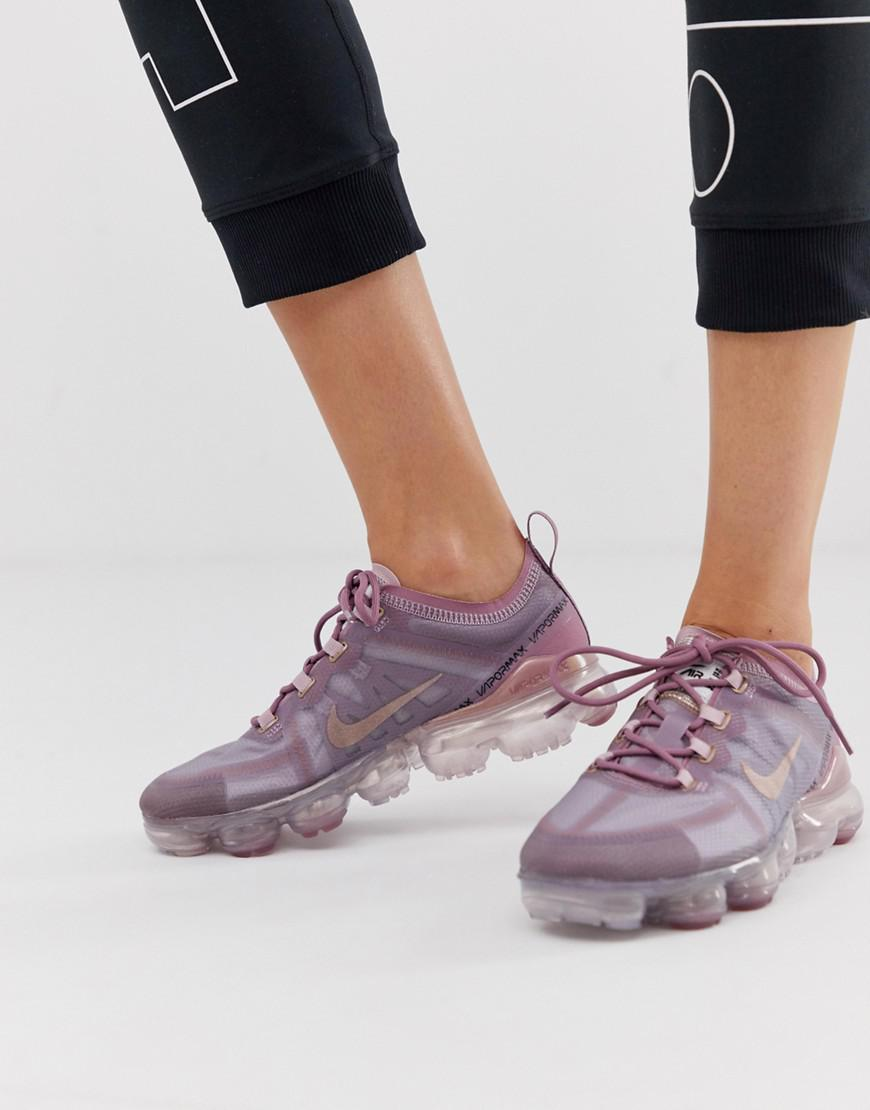 10659e4106578 ... Nike Vapormax 19 Trainers In Lilac - Lyst. View fullscreen