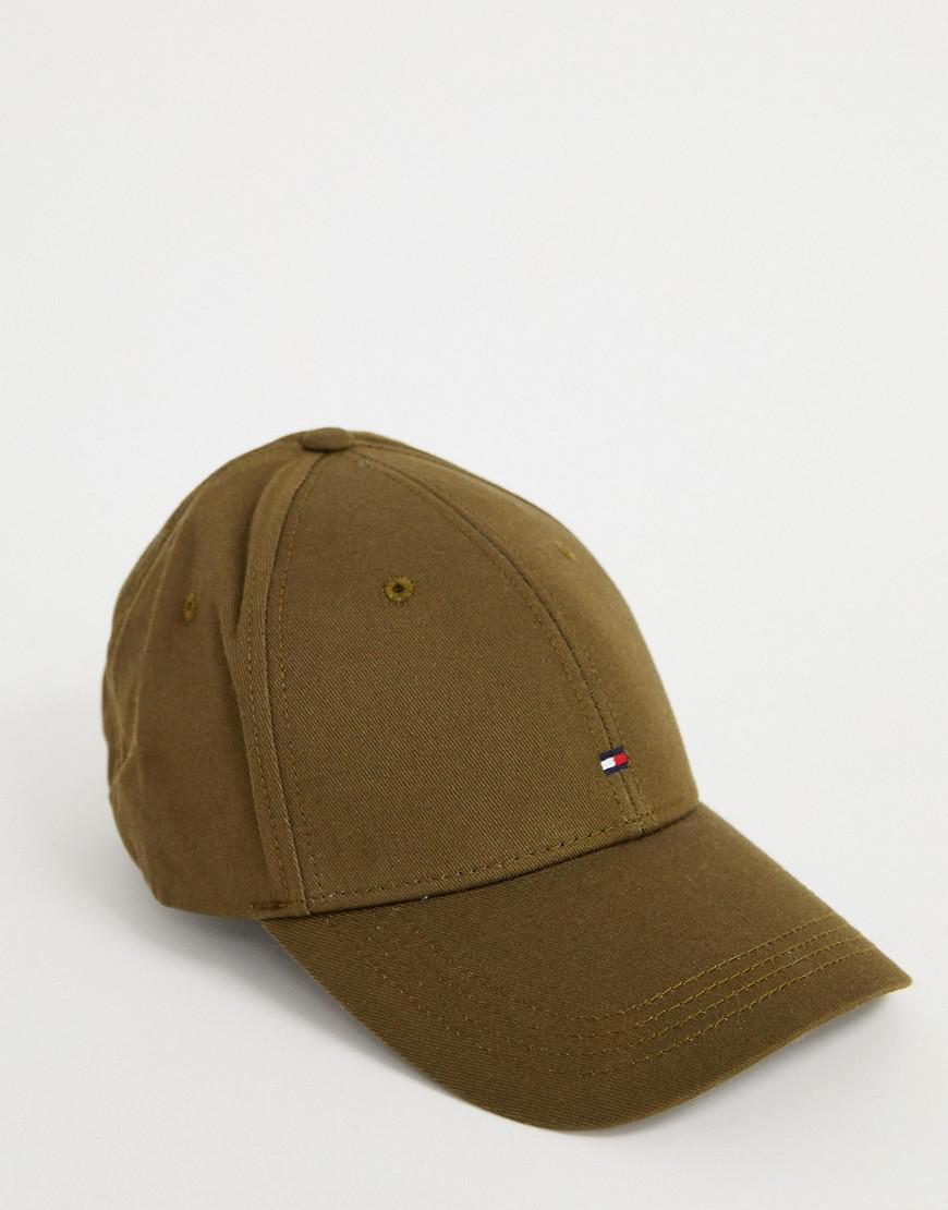 2ce43e21b32 Tommy Hilfiger Logo Cap in Green for Men - Lyst