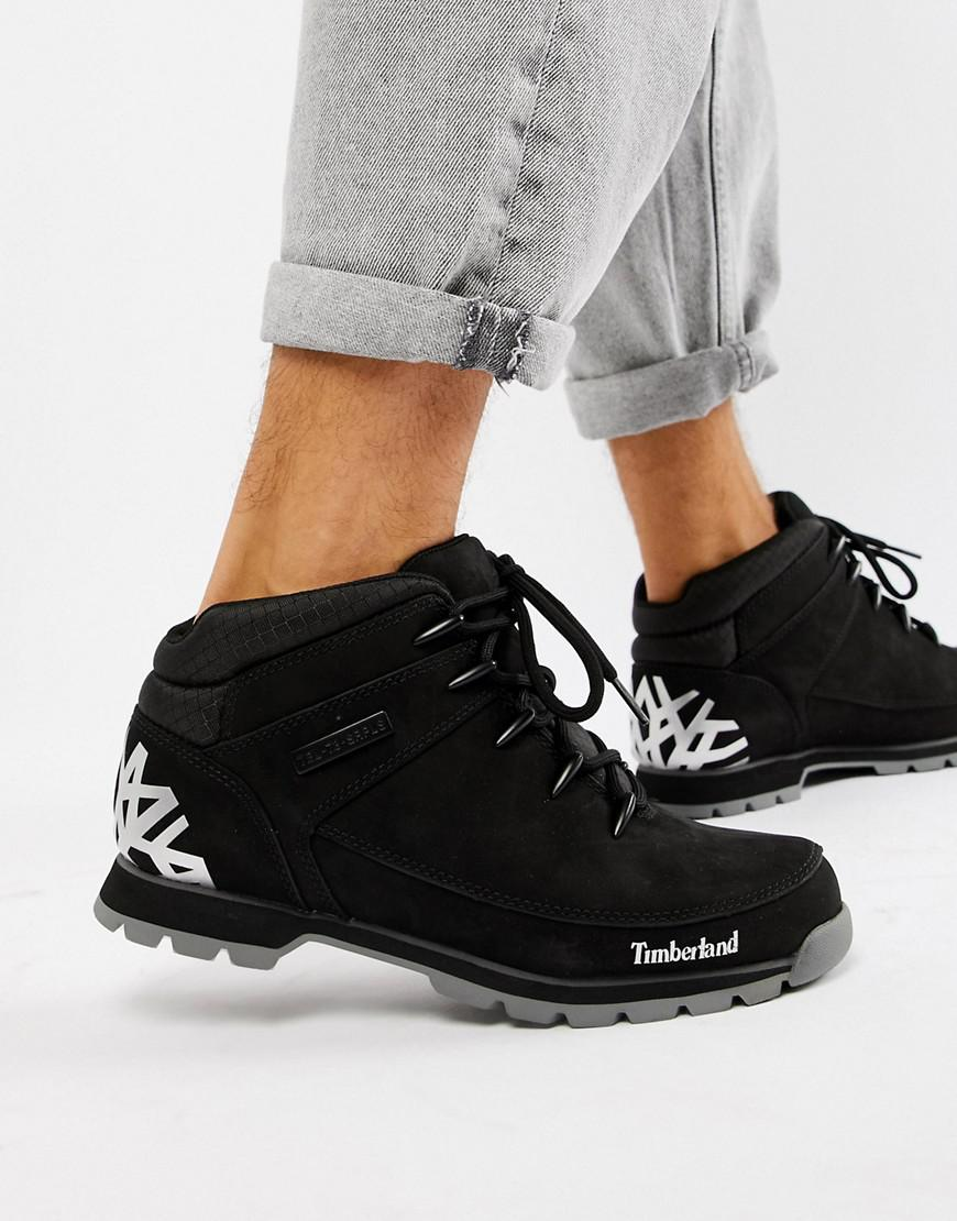 exclusive range united states premium selection Euro Sprint Reflective Hiker Boots In Black
