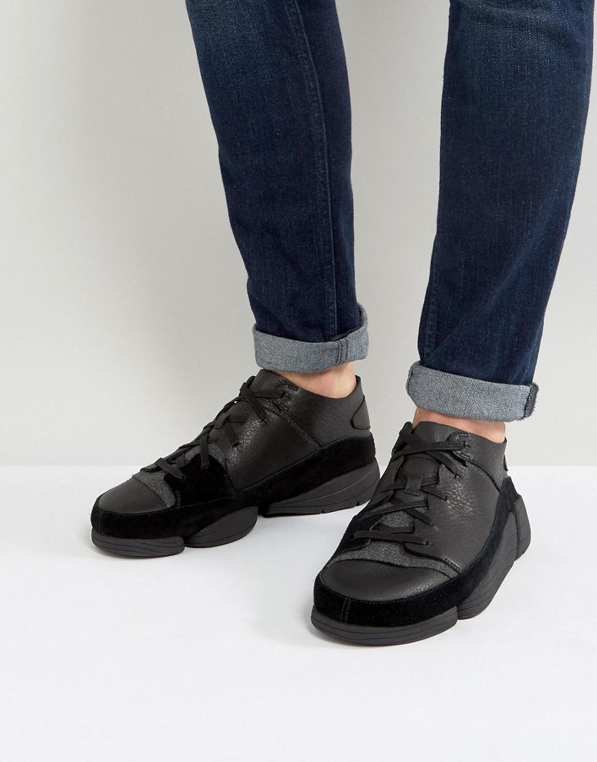 clarks originals trigenic evo black leather