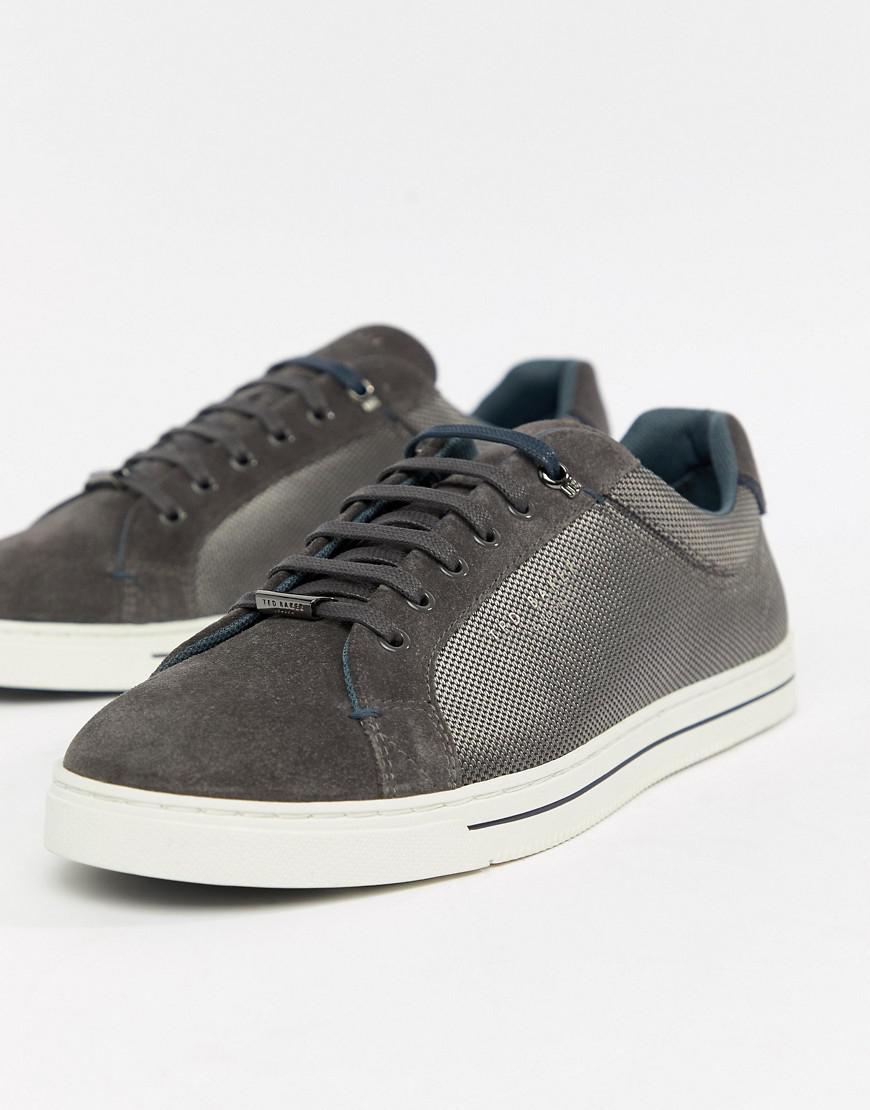 23d99ede6d049f Ted Baker Eeril Trainers In Grey in Gray for Men - Lyst