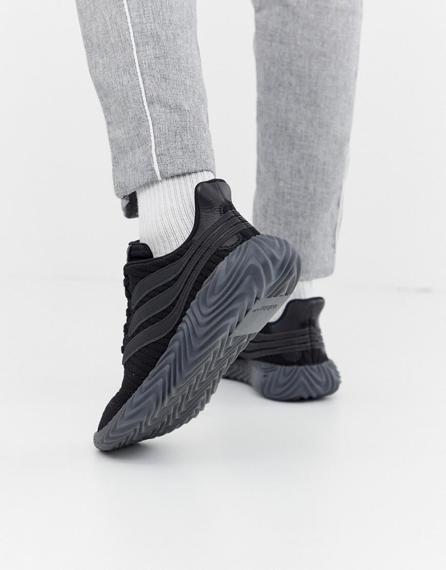 detailed pictures 7310e 57922 adidas Originals. Men s Sobakov Sneakers Triple Black