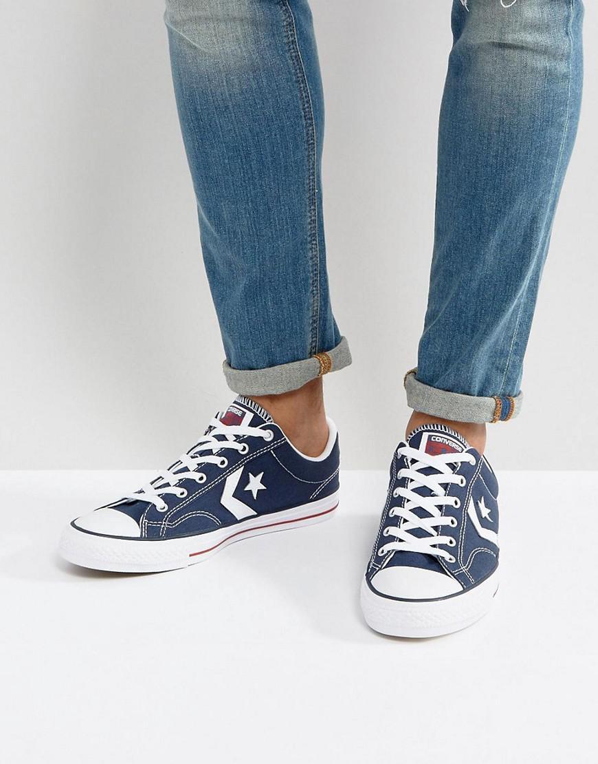 028b22ee8a4b Converse - Blue Star Player Sneakers for Men - Lyst. View fullscreen