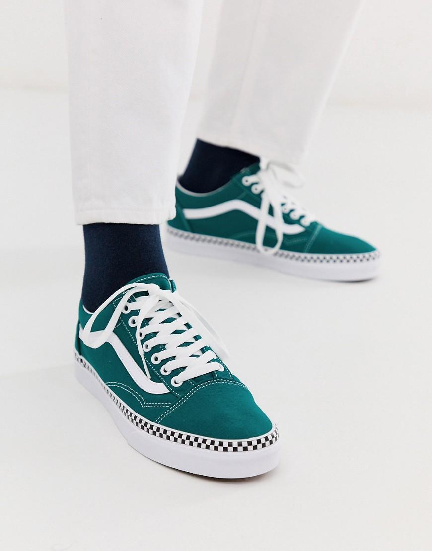 Vans Rubber Old Skool Sneakers With
