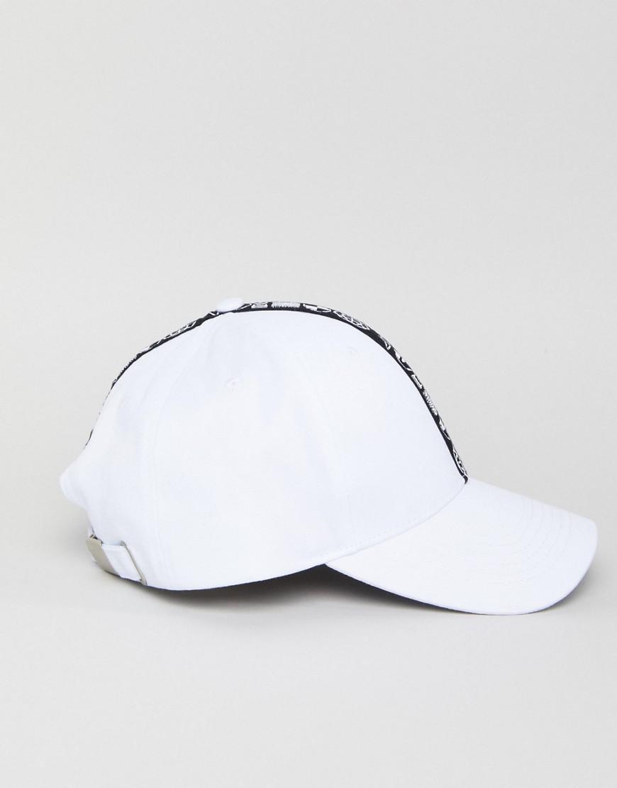 DESIGN Baseball In White With Tape Detail - White Asos CoO57eU